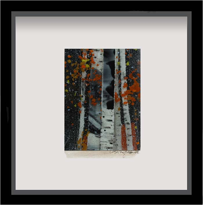 Beginning of Fall is a fused glass artwork; click to return to thumbnail images.