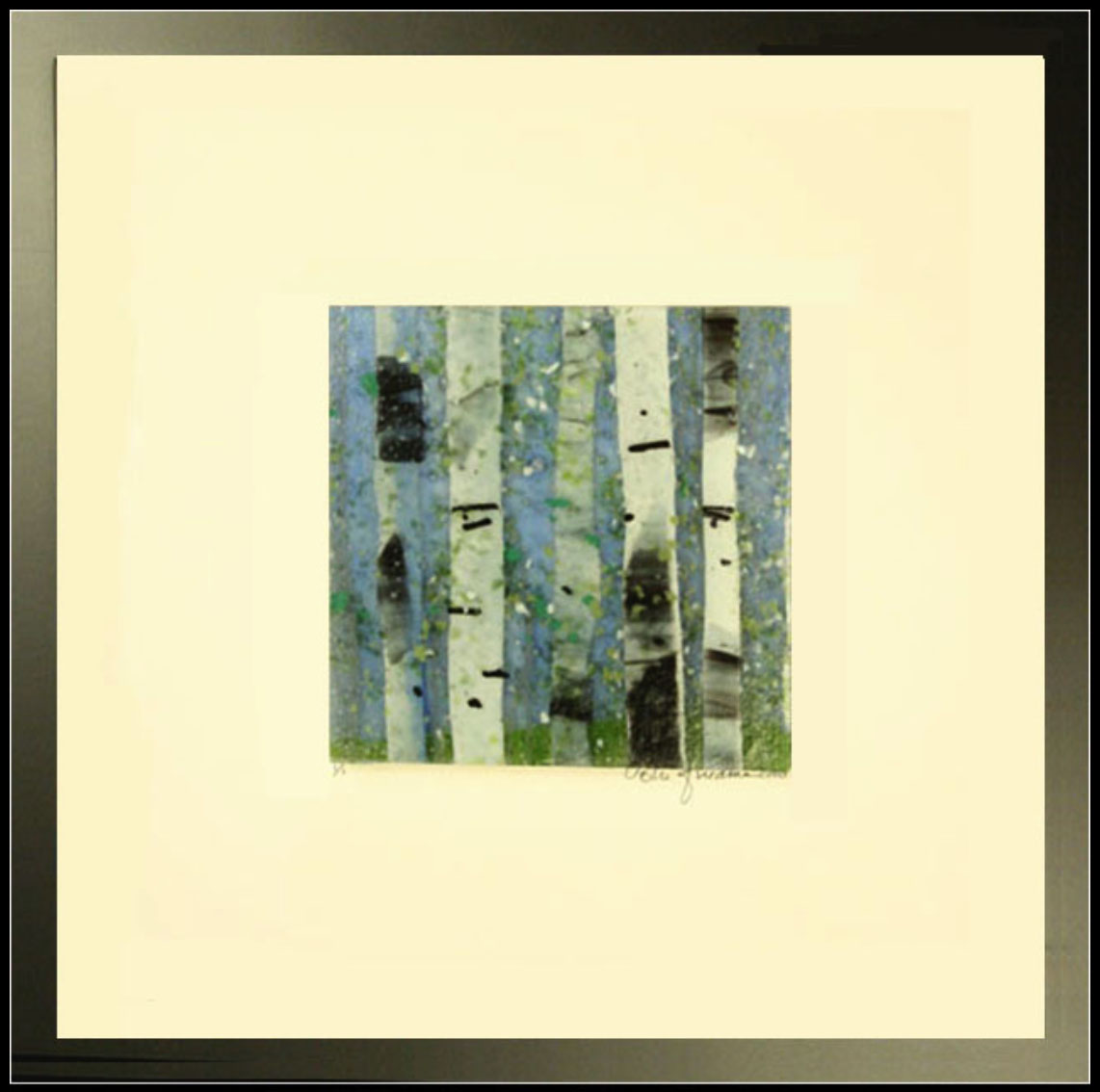 Early Spring is a fused glass artwork; click to return to thumbnail images.