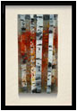 Fall Color is a fused glass artwork; click for enlargement and details.