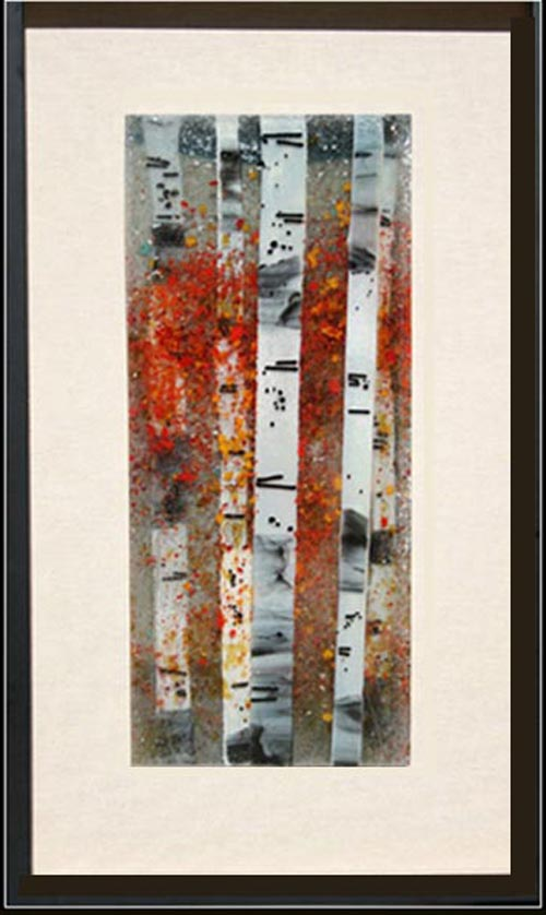 Fall Confetti is a fused glass artwork; click to return to thumbnail images.