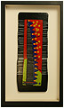 Santa Fe is an abstract fused glass artwork; click for enlargement and details.