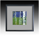 Springtime Beauty is a fused glass artwork; click for enlargement and details.