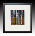 Beauty of Autumn Glow is a fused glass artwork; click for enlargement and details.