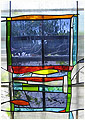 Aaron is a stained glass artwork; click for enlargement and details.