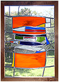 Dagwood is a stained glass artwork; click for enlargement and details.