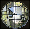 Remembering Laguna is a stained glass artwork; click for enlargement and details.