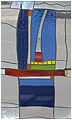 Sailing is a stained glass artwork; click for enlargement and details.