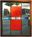 Sue is a stained glass artwork; click for enlargement and details.